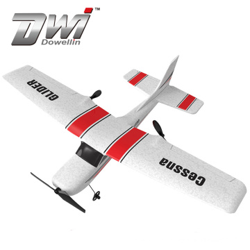 Dowellin 2.4G RC Plane Foam Durable EPP Glider Plane 30 Minutes Fligt Time