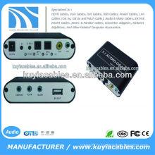 AC3 DTS Цифровой оптический аудиосигнал Для 5.1-канального стерео аналогового RCA-декодера Для PS3 AC112