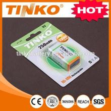 NI-MH Rechargeable battery (NI-MH )9V 250MAH Sells well