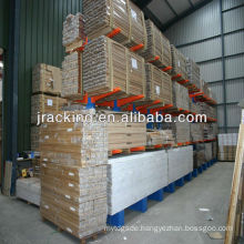 China Nanjing Corrosion Resistantl Extra-Heavy Duty Cantilever Racks System Ridg-U-Rak Style