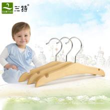 gancho de roupa de madeira do bebê amigável do eco