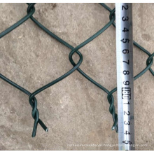 Chain link fence small mesh of company