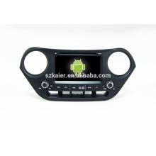 Quad core! DVD de coche con enlace de espejo / DVR / TPMS / OBD2 para pantalla táctil de 7 pulgadas de cuatro núcleos 4.4 sistema Android I10