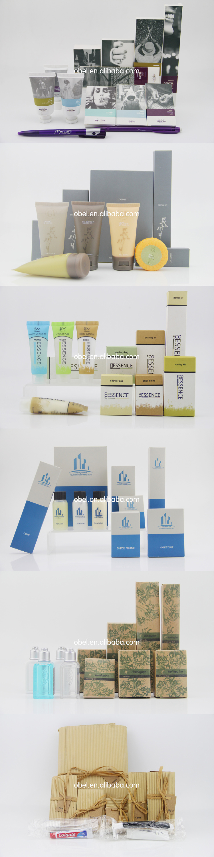 Flow Pack Hotel Amenities