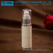 ZB-HC30 30ml umweltfreundliche natürliche Gefühl Farbe anpassbare schöne Runde leer Kosmetikverpackungen Container