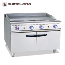 700 Series gas flat griddle With plate make of stainless steel gas griddle