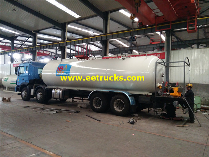 JAC LPG Delivery Tanker Vehicles