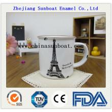 Enamel Customized Printing Mug Made in China