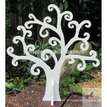 Weiße Farbe MDF Baum Dekoration
