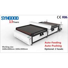 Twin Head Roll to Roll Laser Engraving Machine Syngood 1300X2500mm 1500x3000mm 1800x1200mm 1800x3000mm