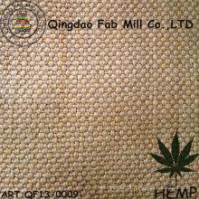 Lona pesada do cânhamo para sacos ou mobília (QF13-0009)