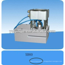 Oval hole puncher for plastic bags/nonwoven bags,punching machine for foil bags