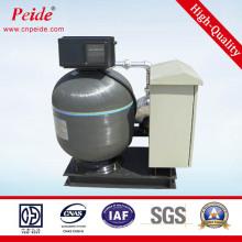 Filtre automatique de sable à piscine en fibre de verre à rétro-lavage automatique