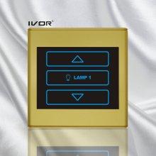 1 Gang Dimmer Switch in Plastic Outline Frame (SK-T2300D1)