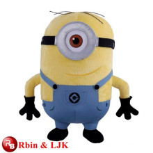 Meet EN71 and ASTM standard ICTI plush toy factory wholesale minion plush toy cheap