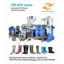Máquina de inyección de botas de lluvia de PVC