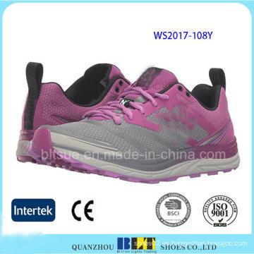 Mujeres de alta calidad corriendo zapatos de seguridad deportiva
