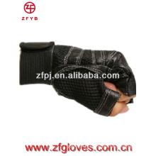 2016 new product men fingreless leather gloves