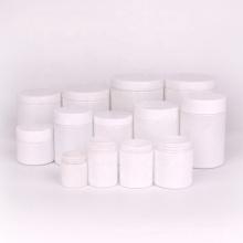 Wholesale matte white glass jar opaque coating storage jar 180ml 300ml 650ml