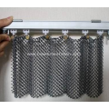 Stainless steel hanging metal mesh chain curtain