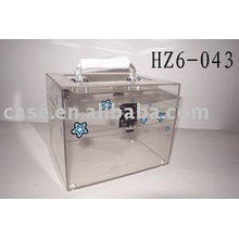 transparent acrylic case