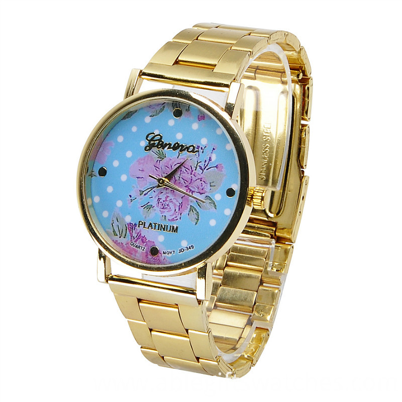 flower alloy watch