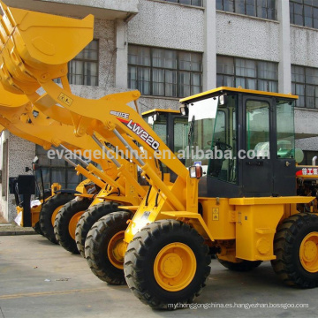 Pequeño cargador de la rueda LW220 pequeño cargador de la rueda de la explotación minera de XCMG China 2 toneladas