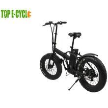 China bateria de dobramento do ebike da bicicleta da bicicleta elétrica do pneu 36v gordo
