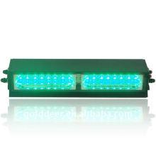 Auto directo de fábrica ADVERTENCIA luz estroboscópica verde tablero Led luz