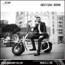 2016 Popular Harley Style 800W Brushless Adult Electric Scooter