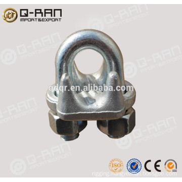 Rigging Drop Forged Galvanized Wire Rope Clamp Cable Clamp 450