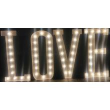 Ampoule lettre signe d'amour pour toute couleur LED