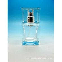 Botella de vidrio del perfume del sello del casquillo del casquillo del tornillo, botella de la fragancia