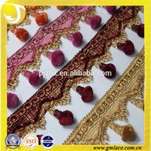 S'habille Tassel Frange pour rideau et décoration de maison