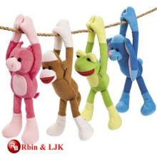 Meet EN71 and ASTM standard long arms and legs monkey plush toy