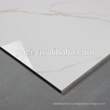 белый полированный Мраморный пол плитки, плитка 60х60