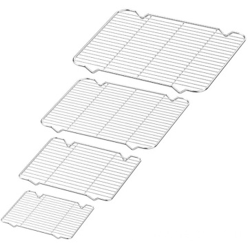 Cooling Grill Tray Stainless Steel Cooling and Baking Rack Nonstick Cooking Tray For Biscuit Cake Bread