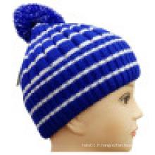 Bonnet tricoté pour l'hiver NTD1612