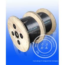Hot-Oil Quenching Steel Wire 0.5-6.5mm / Meilleur fil d'acier breveté 0.15-15.0mm