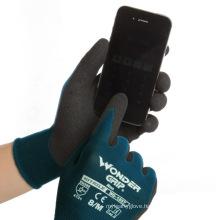 Wonder Grip Flex Plus WG-1857 Nitrile Sandy Nylon And Spandex Working Gloves