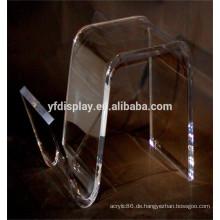Curved Acryl Material Tisch für Platz