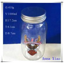 1000ml Glass Honey Jars with Factory Price