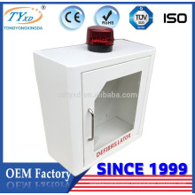 Hsinda Cabinet CE approval wall mount aed box with alarm