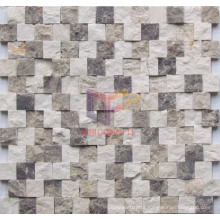 Mix Color Marble Mosaic by Close Paving (CFS913)