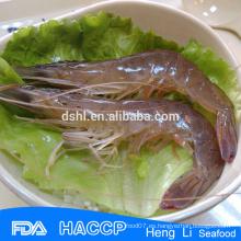 HL002 Congelado mejor precio hoso vannamei camarón blanco