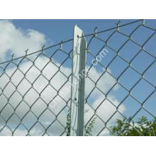 Hot-Dipped Galvanized Wire Mesh Chain Link Fence