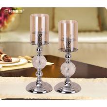 Подставка для свечи одной головы свечи стоят металл и Стекло подсвечник комплект для продажи