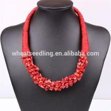 Bib collar choker necklace fashion jewelry 2014