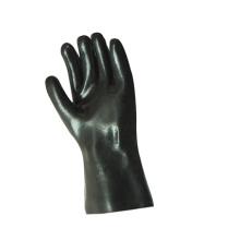 Luva industrial de acabamento suave de neopreno preto-5342