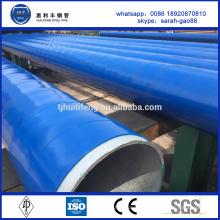 Tuyau en acier anti-corrosion ST45 avec revêtement de couche 3 couches